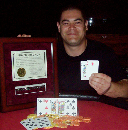 2011 Manhattan Texas Holdem Champion Alan Stevens